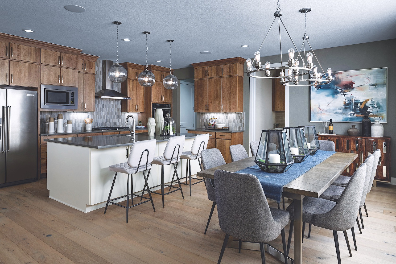 Angela Harris & Toll Brothers on Instagram and Build Beautiful Blog